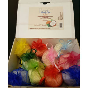 Handmade Organic Soap Flakes with Coconut Oil (12 bags)
